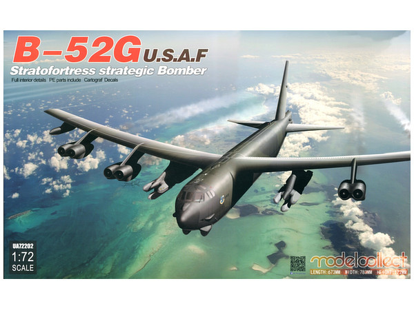 1/72 B-52G U.S.A.F Stratofortress Strategic Bomber - Model Kit