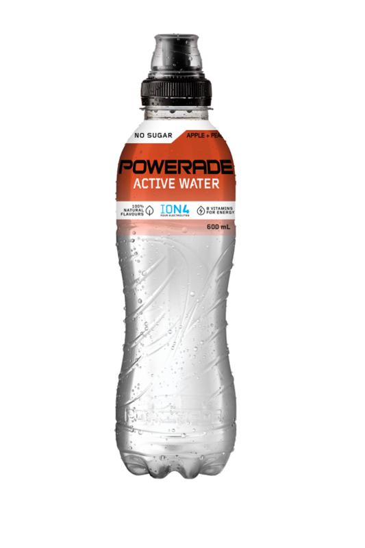 Powerade Active Water Peach & Apple 750ml (15pk)