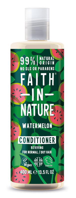 Faith In Nature: Watermelon Conditioner for Normal/Dry Hair (400ml)