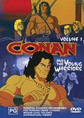 Conan and the Young Warriors - Vol. 1 on DVD