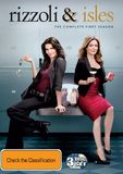 Rizzoli & Isles - The Complete First Season DVD