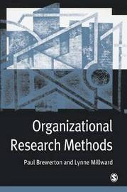 Organizational Research Methods by Paul M. Brewerton image