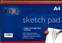 Jasart A4 Sketch Pad- Spiral image