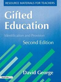 Gifted Education, Second Edition by David George image