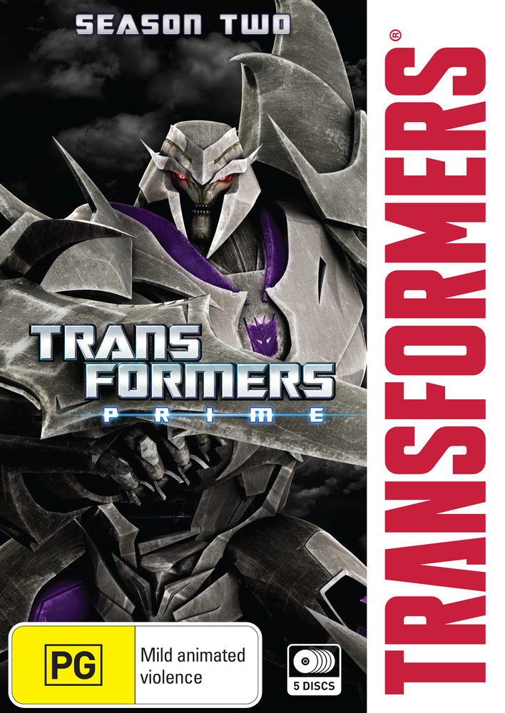 Transformers Prime Season 2 Collection on DVD image