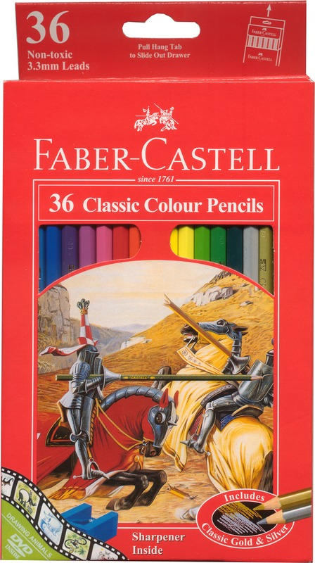 Faber-Castell Classic: Coloured Pencils - 36 Pack