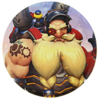 Overwatch Torbjorn Button