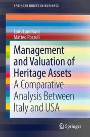 Management and Valuation of Heritage Assets by Loris Landriani