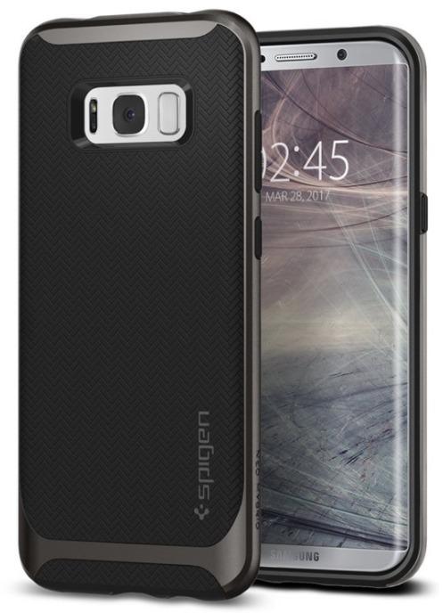 Spigen Galaxy S8 Neo Hybrid Case Gunmetal image