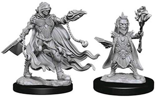 Pathfinder Deep Cuts: Unpainted Miniature Figures - Evil Wizards image