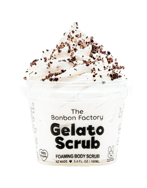The Bonbon Factory Body Scrub - Soft Serve Gelato (160ml)