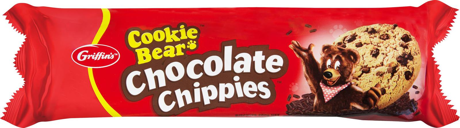 Griffins Cookie Bear Chocolate Chippies (200g) image