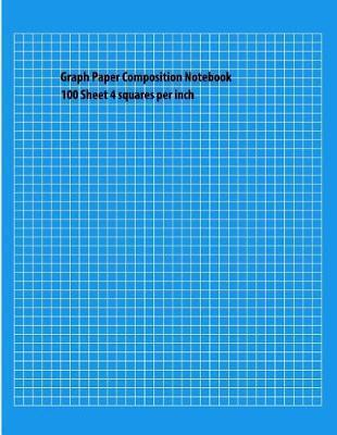 Graph Paper Composition Notebook by Kristin E Blough image