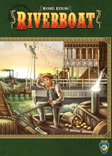 Riverboat - Board Game