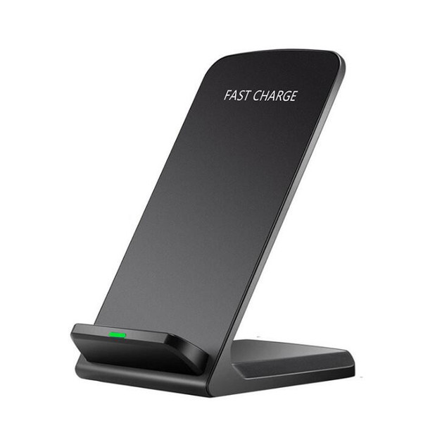 Wireless Smartphone Charger Stand Dock - Black