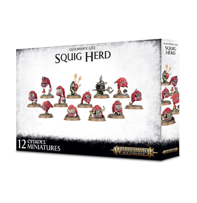 Warhammer Age of Sigmar: Gloomspite Gitz - Squig Herd