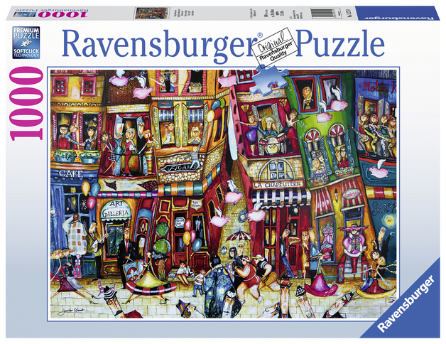 Ravensburger: 1,000 Piece Puzzle - When Pigs Fly