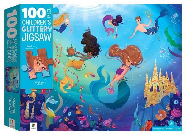 Hinkler: Jigsaw with Treatments - Mermaids
