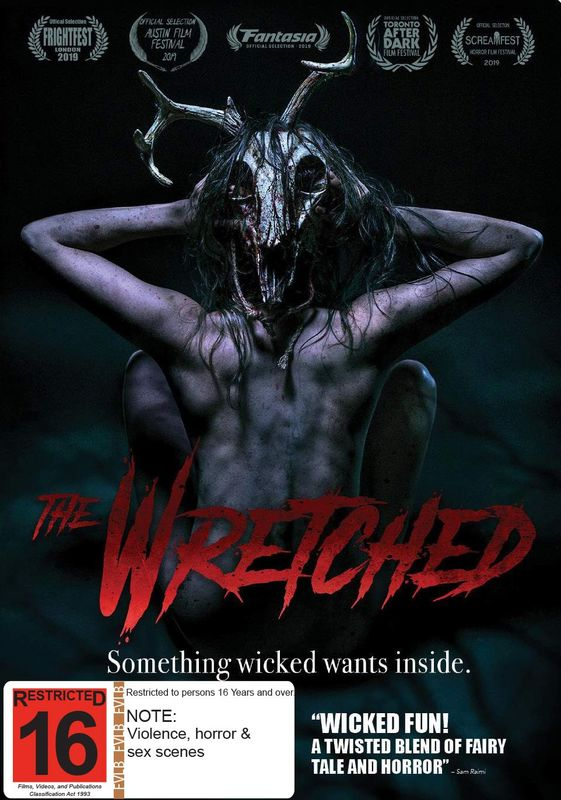 The Wretched on DVD