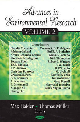 Advances in Environmental Research image