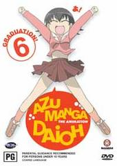Azumanga Daioh Vol 6 - Graduation! on DVD