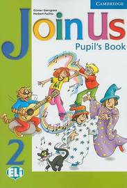 Join Us 2 Pupil's Book by Gunter Gerngross