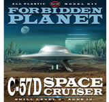 Polar Lights Forbidden Planet C-57D Starcruiser 1/144 Model Kit
