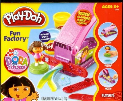 Play-doh Dora The Explorer Fun Factory