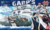One Piece: Grand Ship Collection Garp's Marine Ship Model Kit