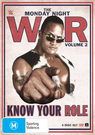 WWE - Monday Night War Volume 2: Know Your Role on DVD
