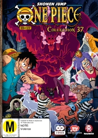 One Piece (uncut) Collection 37 (Eps 446 - 456) DVD
