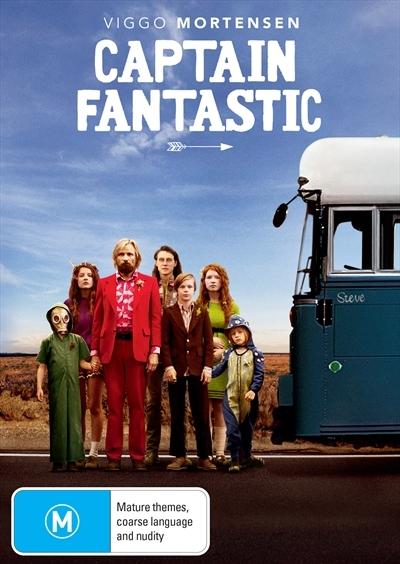 Captain Fantastic on DVD