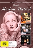 Marlene Dietrich - Triple Pack on DVD
