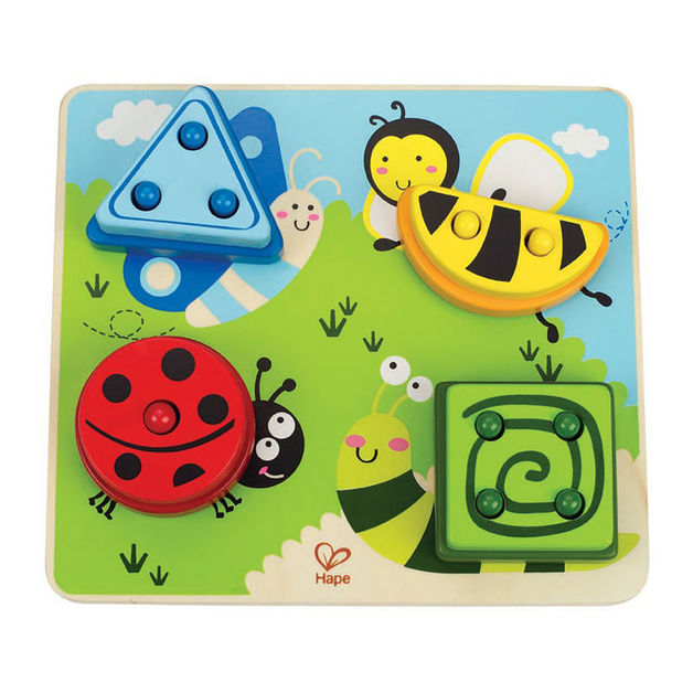 Hape: Build A Bug Sorting Puzzle