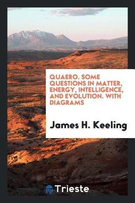 Quaero. Some Questions in Matter, Energy, Intelligence, and Evolution. with Diagrams by James H Keeling image