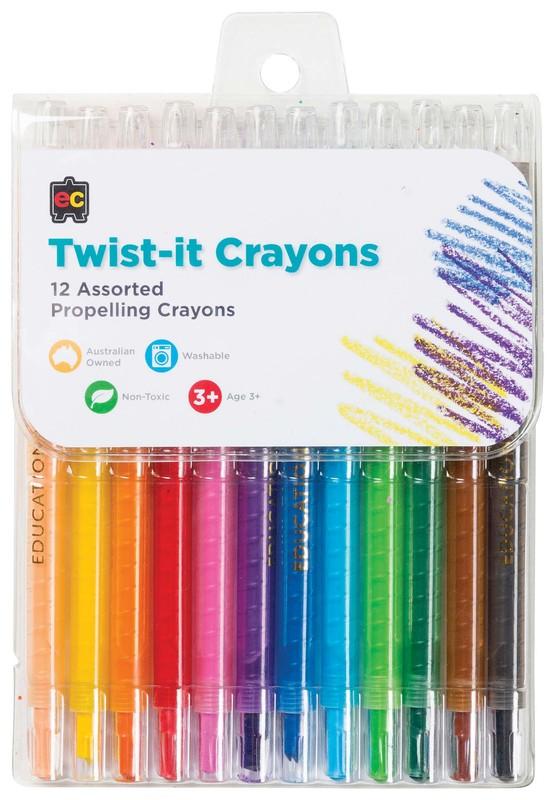 EC: Twist-it Crayons (Pack 12)