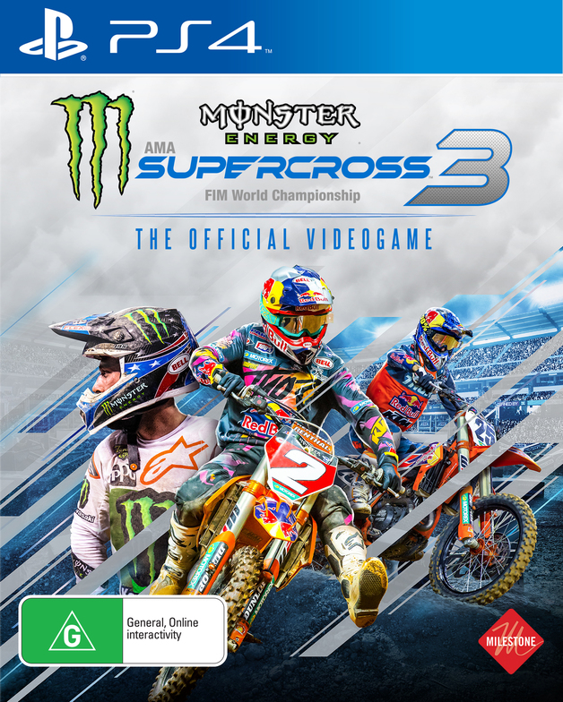 Monster Energy Supercross - The Official Videogame 3 for PS4