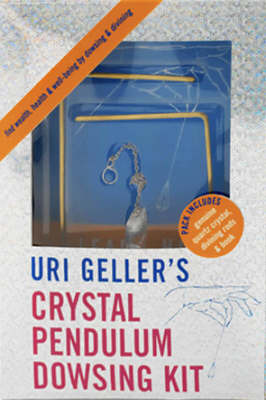 Uri Geller's Crystal Pendulum Dowsing Kit: Find Wealth, Health and Well-Being by Dowsing and Divining by Uri Geller image
