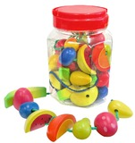 Fun Factory - Lacing Fruits 34 Pieces