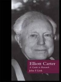 Elliott Carter by John F Link image