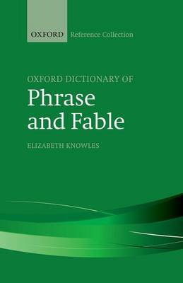 The Oxford Dictionary of Phrase and Fable image