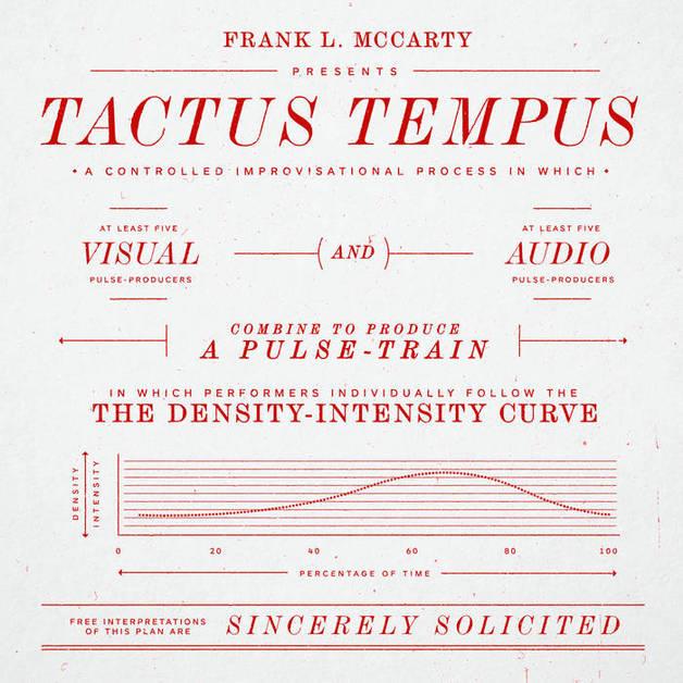Tactus Tempus (LP) by A Pulse Train