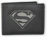Superman: Metal Badge - Bi-fold Wallet