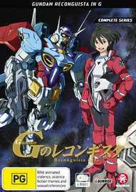 Gundam: Reconguista In G - Complete Series on DVD