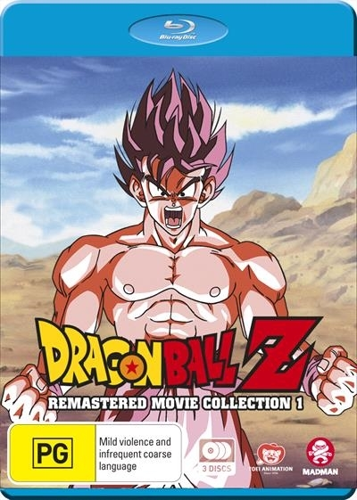 Dragon Ball Z: Remastered Movie Collection 1 (uncut) (Movies 1-6 + Specials) on Blu-ray image
