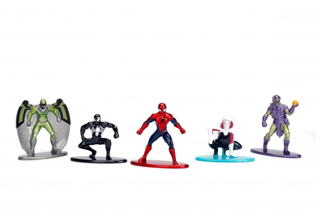 Jada Metal Minis: Marvel - Nano Metalfigs 5-Pack #1 image