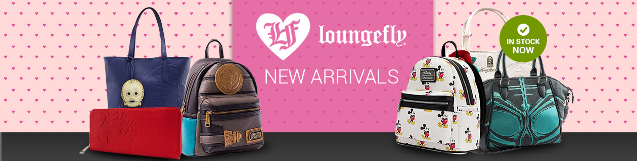 The Latest from Loungefly
