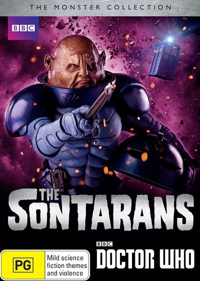 Doctor Who: The Monster Collection - Sontarans on DVD image
