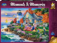 Holdson: 1000 Piece Puzzle - Moments & Memories (Lighthouse Picnic)