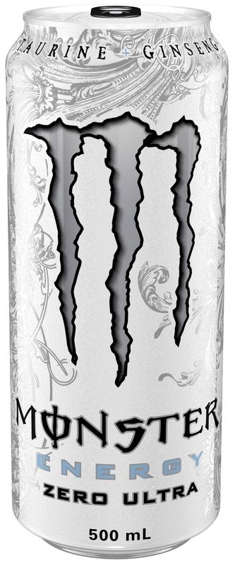 Monster Energy Zero Ultra Energy Drink 500ml Can (12 Pack)